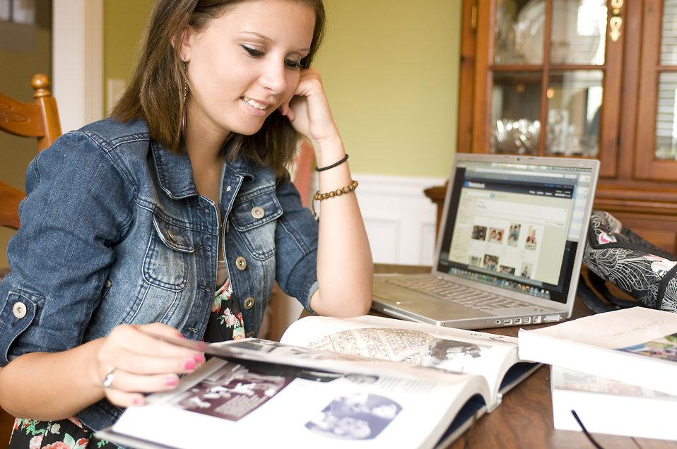 Studying for upcoming exams can be stress free if students take the proper steps. Photo courtesy of res.freestockphotos.biz/pictures/15/15994-a-female-student-reading-a-book-pv.jpg
