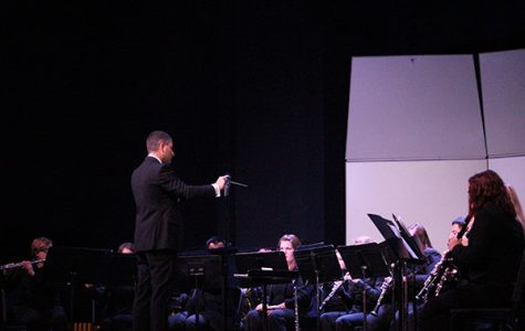 Symphonic Winds concert featured guest artists and Southeastern students
