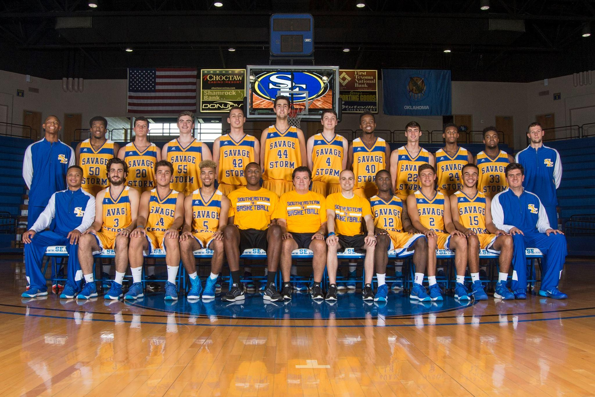 Southeastern Men's Basketball team. Photo courtesy of gosoutheastern.com