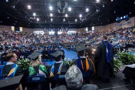 Spring commencement held Saturday at Bloomer Sullivan Arena