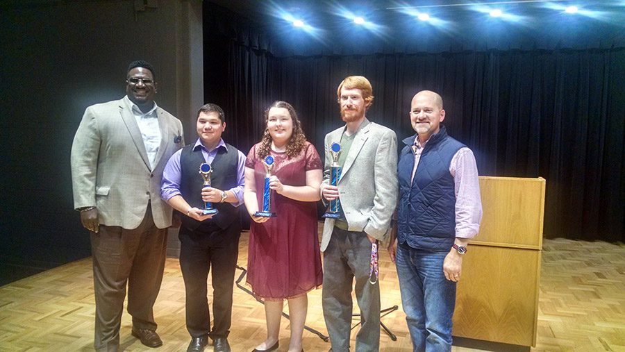 First public speaking showcase features top students in oratory