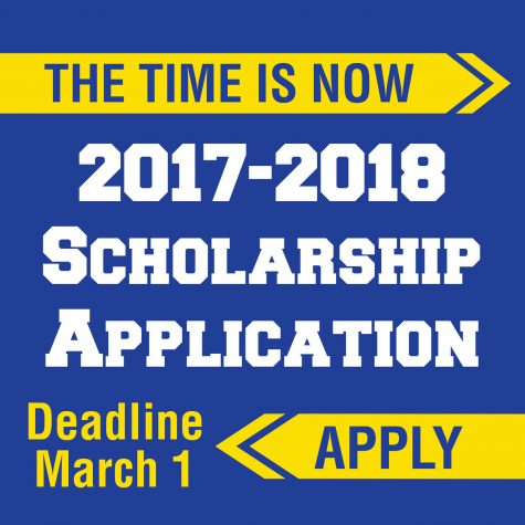 Scholarship application due date approaching