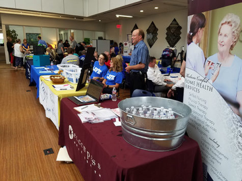 Durant businesses and Southeastern organizations gathered for the Taste of Durant
