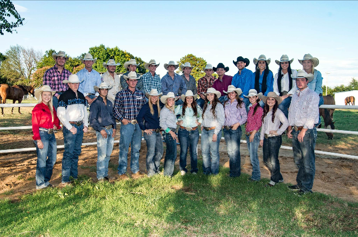 2016-17 Southeastern rodeo team