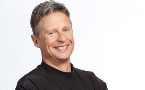 Governor Gary Johnson, third party presidential candidate in the 2016 election. Photo courtesy of www.johnsonweld.com