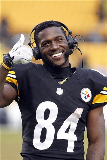 Wide receiver and punt returner for Pittsburgh Steelers (Photo courtesy of Pinterest.com)
