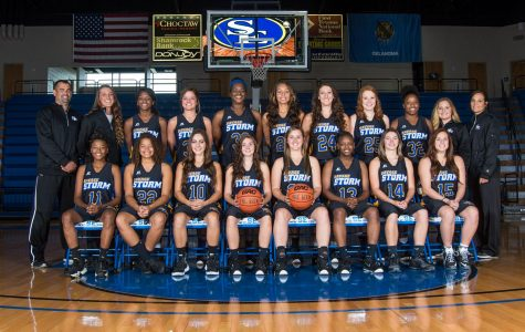 Savage Storm women's basketball team. Courtesy of go southeastern.com.