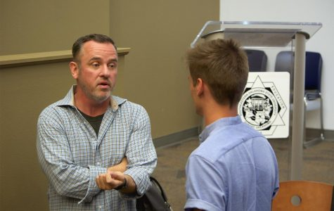 Award-winning filmmaker, Tim Rundel, visits Southeastern