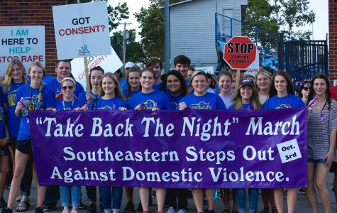 Take Back the Night March and Candlelight Vigil