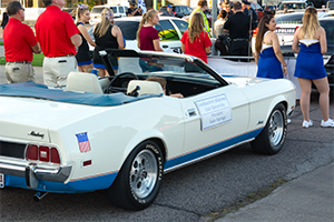 Southeastern's homecoming parade in downtown Durant