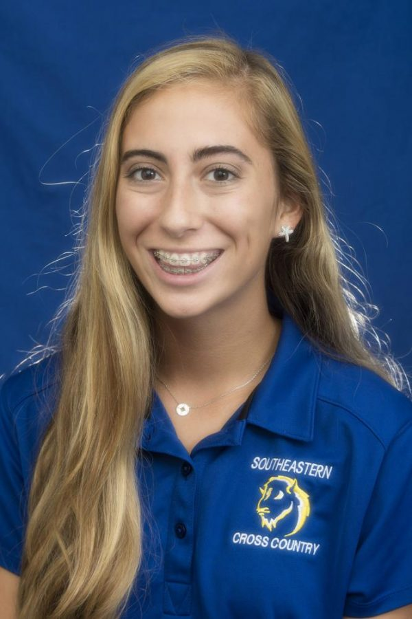 Cross country member Rebekah Christman is driven by her determination and mental outlook.