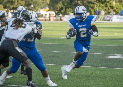 SE football showed promise during a preseason scrimmage