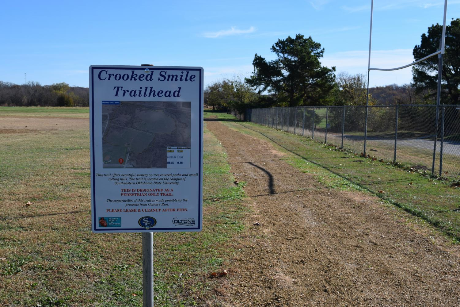 New Crooked Smile cross country trail opens on SE campus.