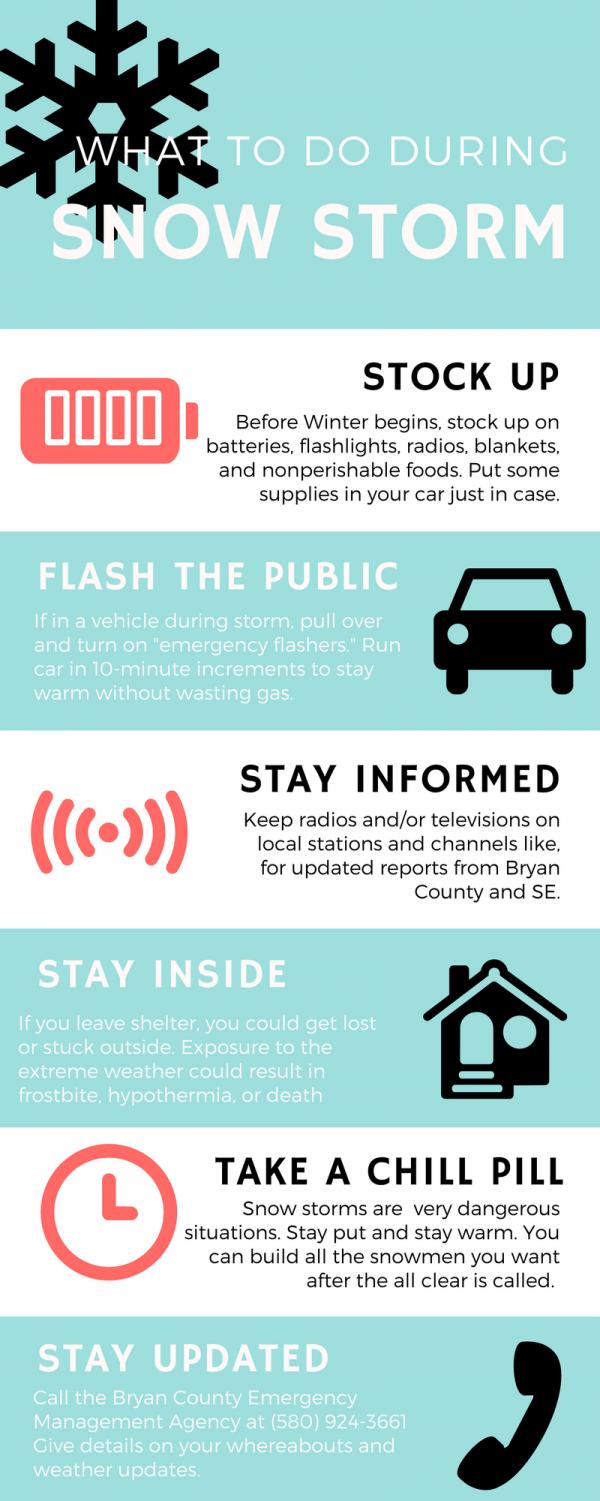 Stay warm and informed as winter weather approaches.