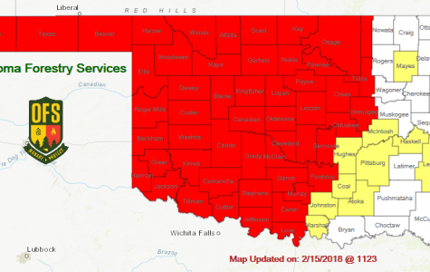Oklahoma counties are dry, dry, dry