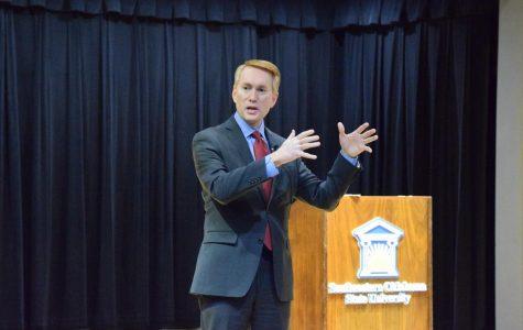 Senator James Lankford visits SE