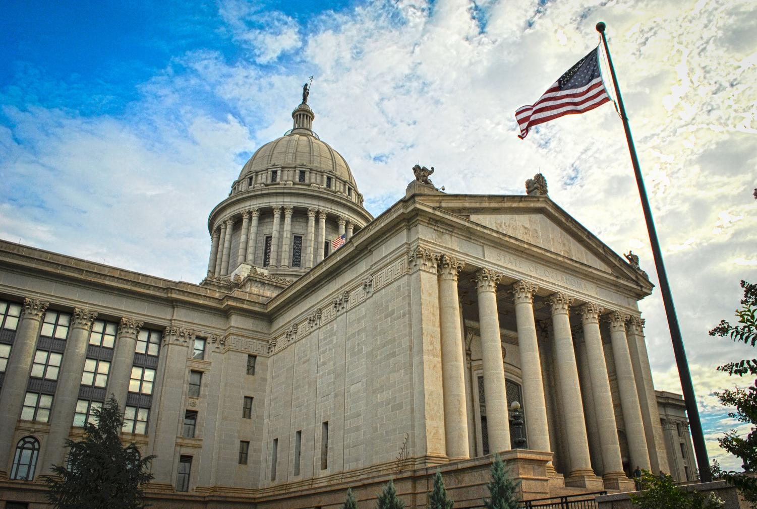 Oklahoma State Capitol, 22nd St. and Lincoln Boulevard Oklahoma City https://creativecommons.org/licenses/by-sa/3.0/deed.en