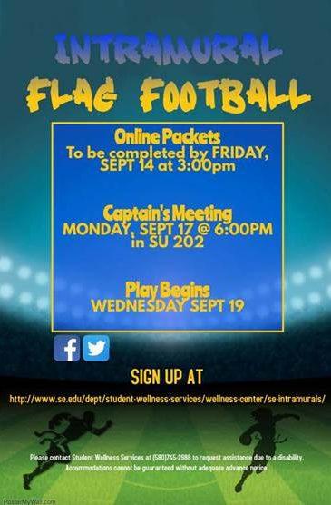 Flag Football is back!
