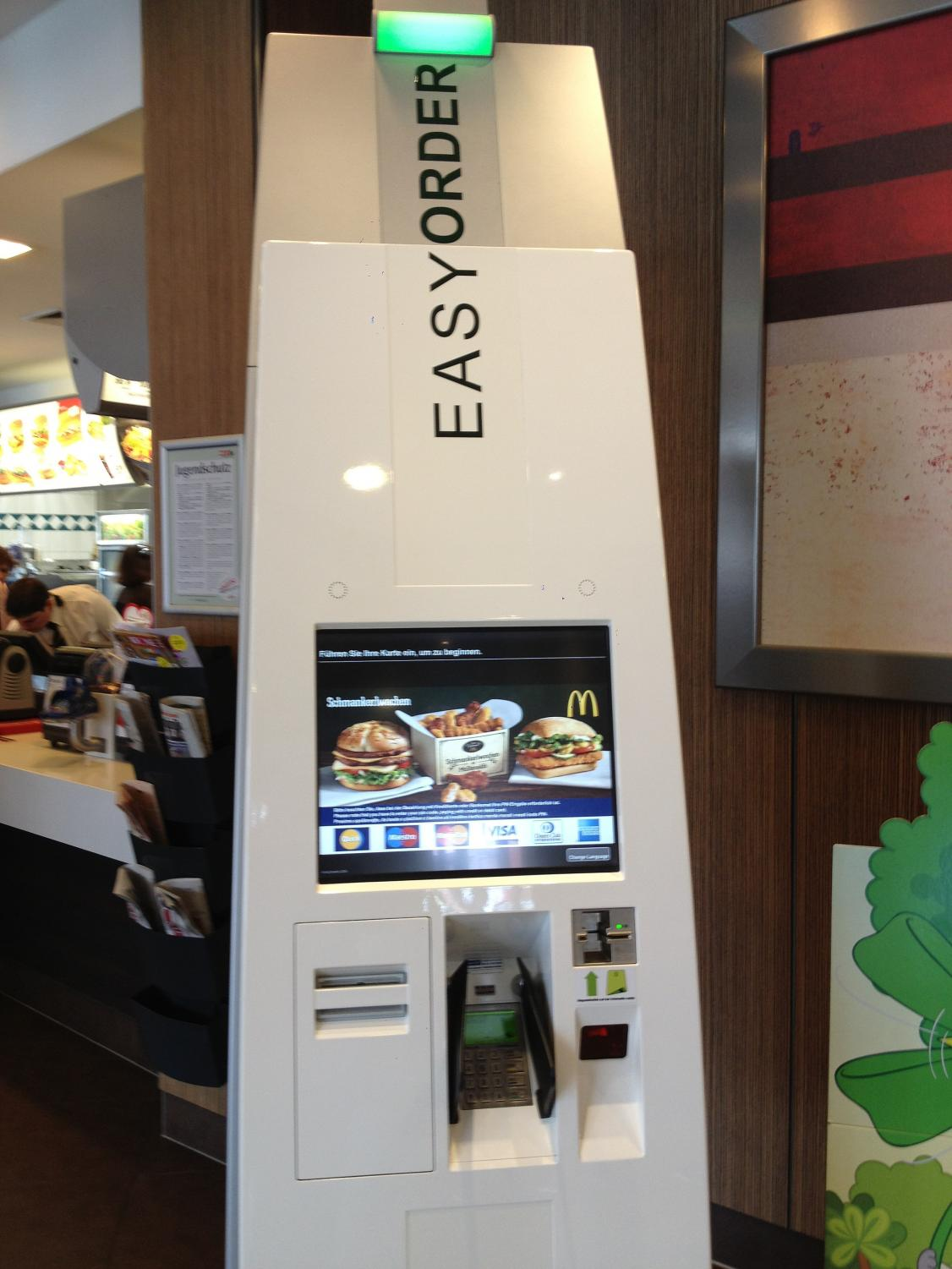 McDonald's Payment Machine https://creativecommons.org/licenses/by/3.0/deed.en