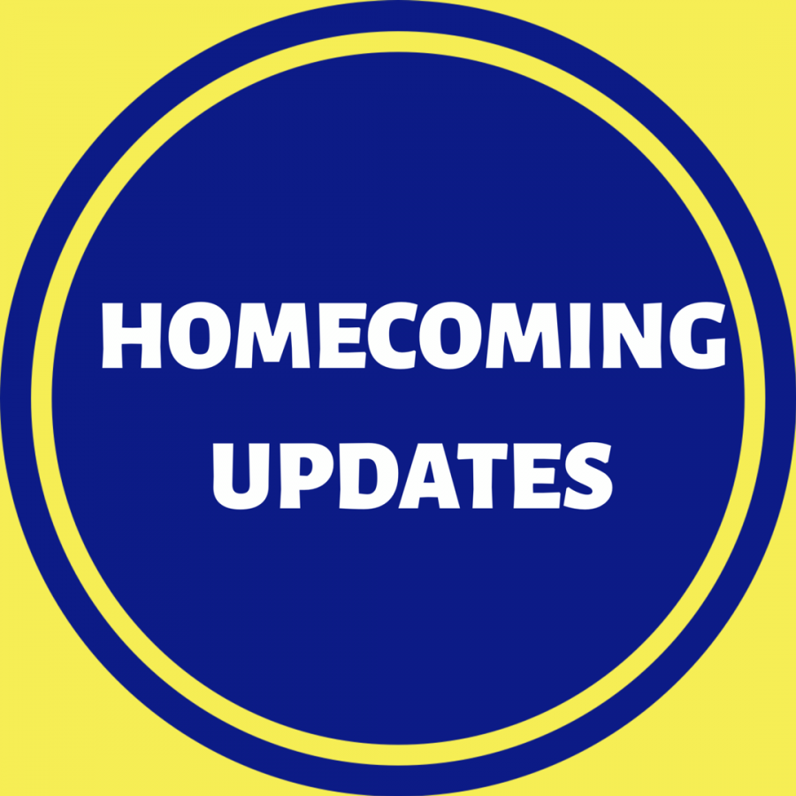 Update on Homecoming activities