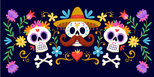 The spooky fun doesn't end in October. There will be an event on November 1 to celebrate  Día de Muertos, or Day of the Dead, on November 1.