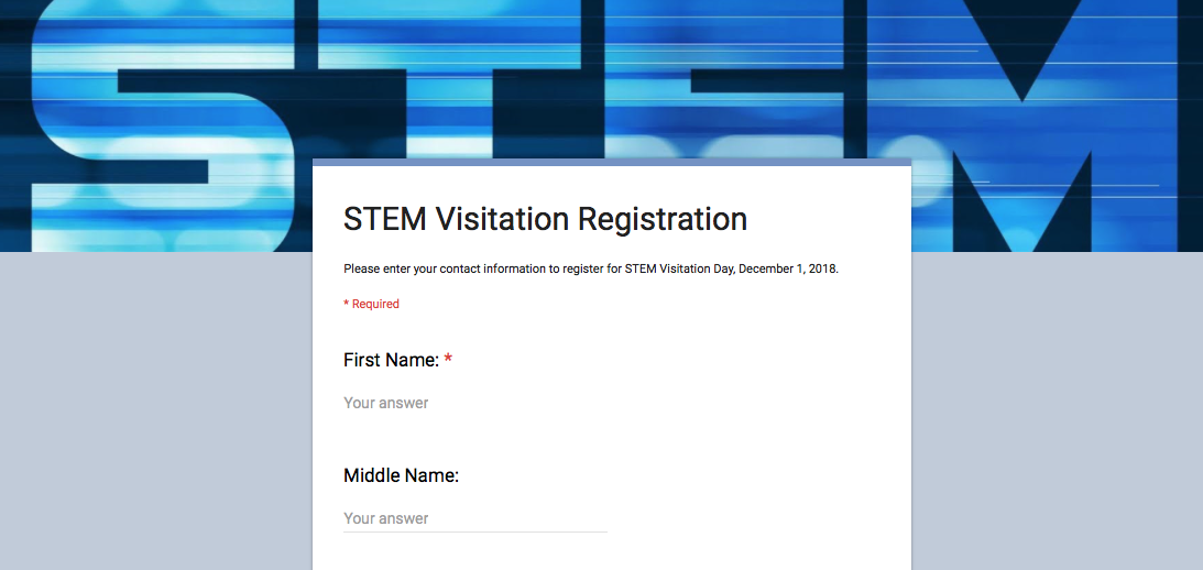 High school students to attend STEM contest at SE on December 1.