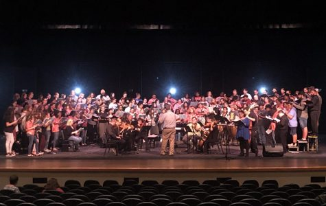 Symphonic Choir collaborates with high school students