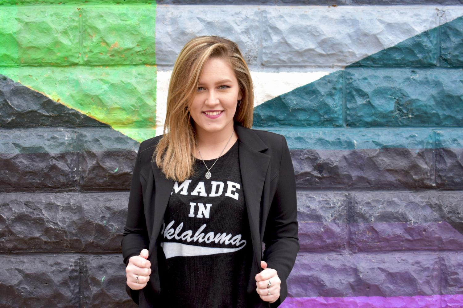 Senior, Shalee Buzan, was appointed as Coordinator of Community for the state president's cabinet for the Oklahoma Student Government Association.