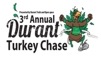 The clean-up efforts for the 3rd Annual Thanksgiving Day Durant Turkey Chase will begin on November 18 from 4 to 5:30 p.m.