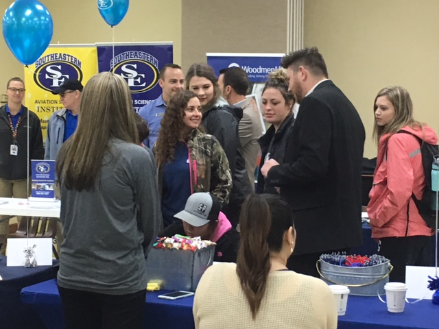 Career+Fair+attracts+43+businesses