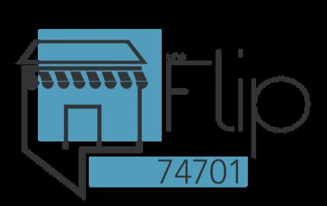 the flip logo