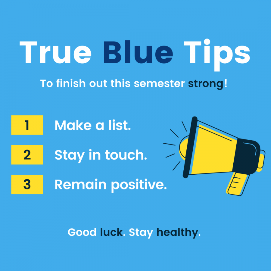 True Blue tips from James Reed