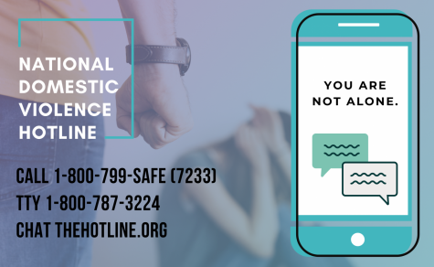 "The National Domestic Violence Hotline offers, ""highly-trained advocates 24/7/365 to talk confidentially with anyone experiencing domestic violence, seeking resources or information or questioning unhealthy aspects of their relationship."""