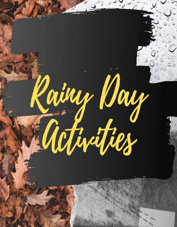 Rainy day activities to help you feel productive