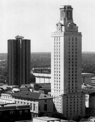 The University of Texas at Austin's clock tower remains an iconic landmark for the college.