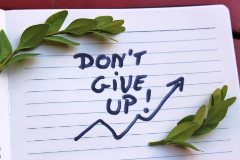 We are almost to the finish line for the semester, do not give up hope now.