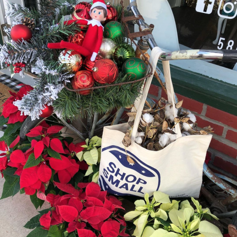 Durant Main Street promoting Small Business Saturday in downtown Durant on Nov. 30, 2019. This year, be sure to shop small as often as you can.