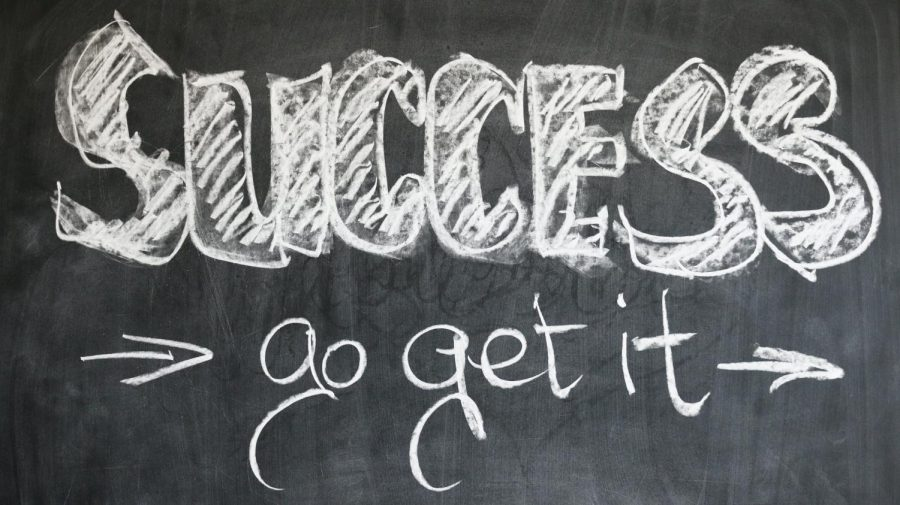 Success is out there and more achievable than it may feel. Don't be afraid to chase your goals.