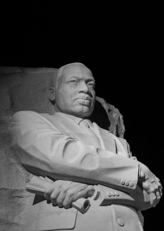 The Martin Luther King, Jr. Memorial is located in West Potomac Park next to the National Mall in Washington, D.C.