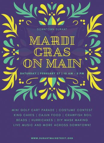 Mardi Gras on Main will include a variety of themed activities and live music.