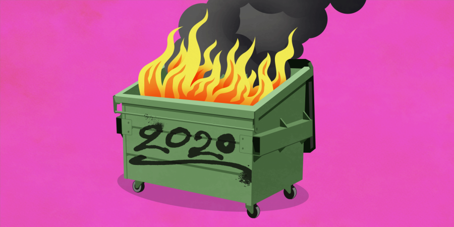 2020 was a dumpster fire of illness, sadness and self-doubt for many people.