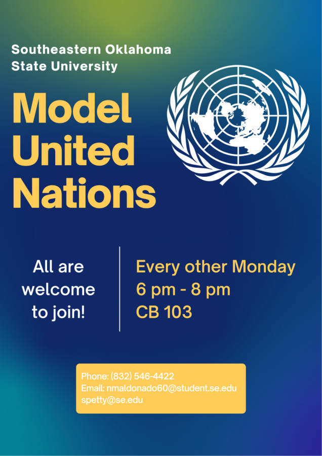 SE's Model United Nations is welcoming all new members who want to voice their opinions in a safe and educational environment.