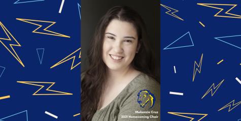 Mekenzie Cruz, Southeastern Oklahoma State Universitys 2021 Homecoming Chair.