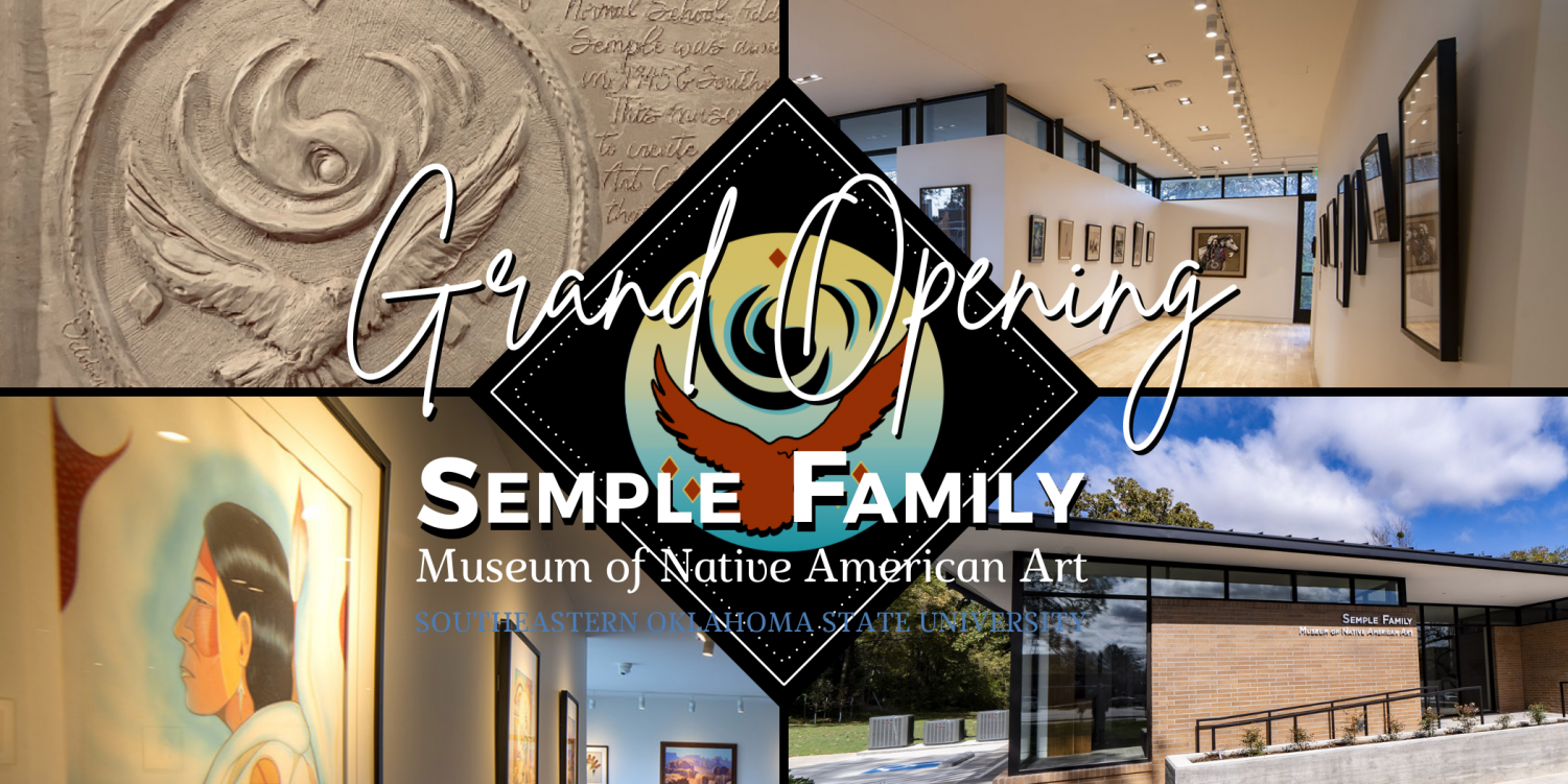 The Semple Family Museum of Native American Art will be hosting their grand opening and ribbon cutting ceremonies on Saturday, Oct. 16.